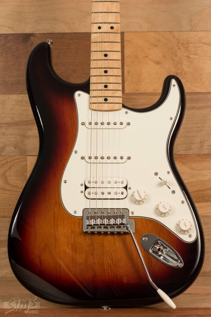 Fender Fender Standard Stratocaster® HSS, Maple Fingerboard, Brown Sunburst