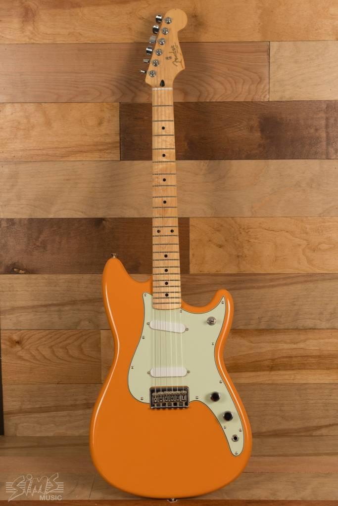 Fender Fender Duo-Sonic, Capri Orange