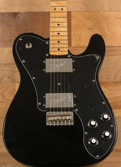 Squier Squier Vintage Modified Telecaster® Deluxe, Maple Fingerboard, Black