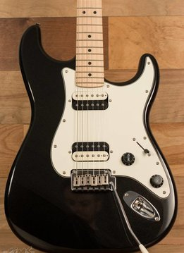 Fender Squier by Fender Contemporary Stratocaster®  HH, Maple Fingerboard, Black Metallic