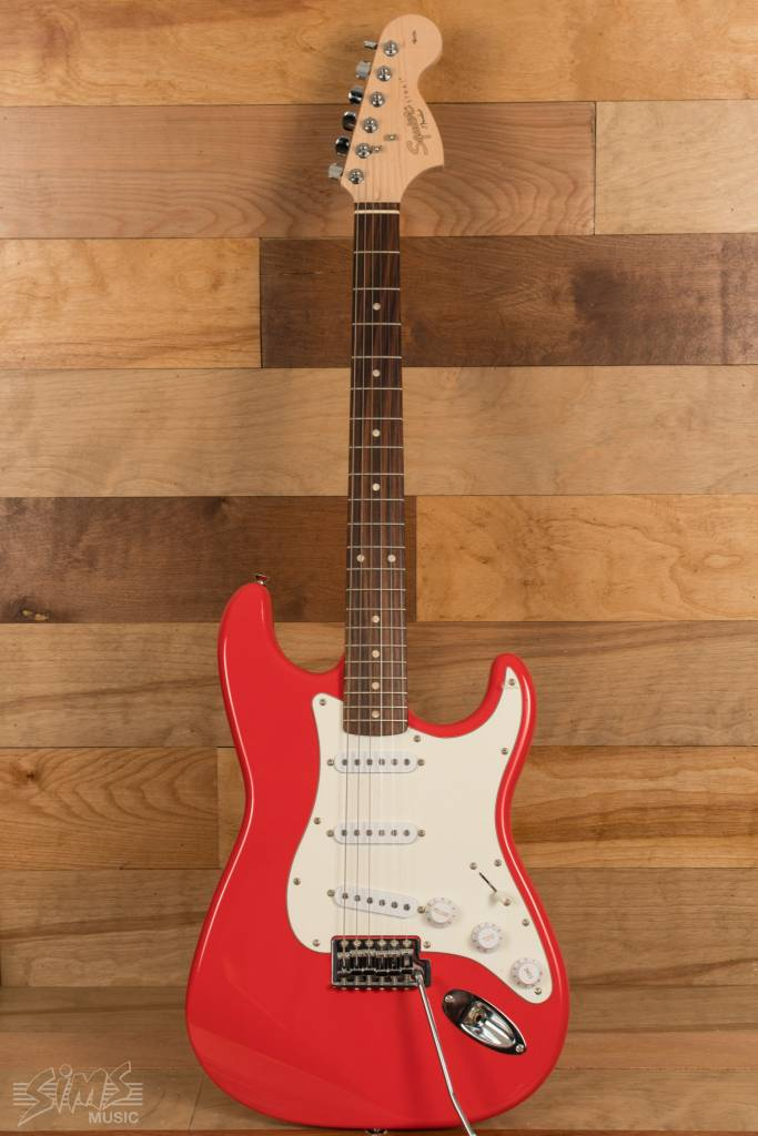 Squier Squier Affinity Seriese284a2 Stratocaster®, Rosewood Fingerboard, Race Red