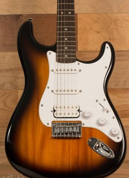 Squier Squier Bullet Stratocaster® HSS HT, Rosewood Fingerboard,  Brown Sunburst