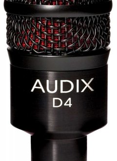 Audix Audix D4 Dynamic Instrument Microphone