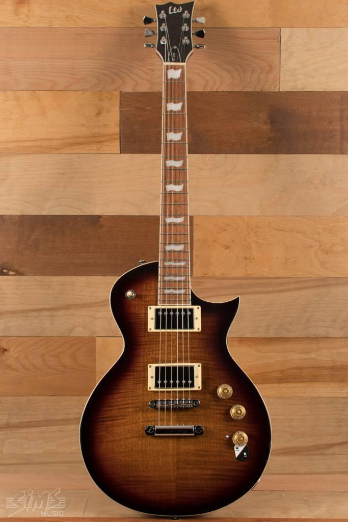 ESP ESP LTD EC-256 FM, Dark Brown Sunburst