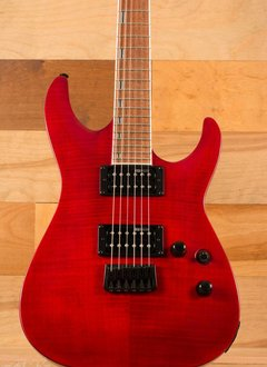 ESP ESP LTD H-200 FM, See Thru Red