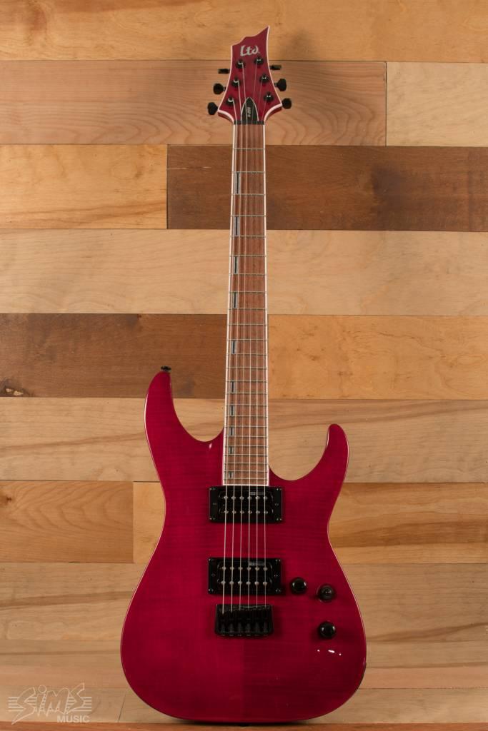 ESP ESP LTD H-200 FM, See Thru Red