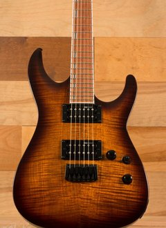 ESP ESP LTD H-200FM, Dark Brown Sunburst