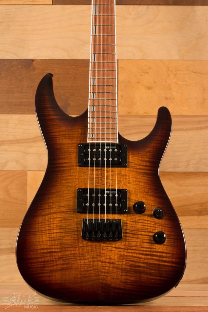 ESP ESP LTD H-200 FM, Dark Brown Sunburst