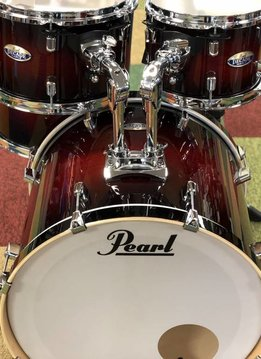 Pearl Pearl DMP Decade Maple Shell Pack, Gloss Deep Red Burst