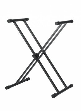 """Gator Cases Gator Frameworks Deluxe """"X"""" Style Keyboard Stand"""