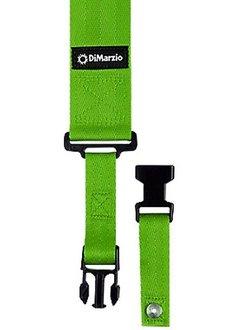 DiMarzio Cliplock Strap, Neon Green