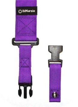 DiMarzio Cliplock Strap, Purple