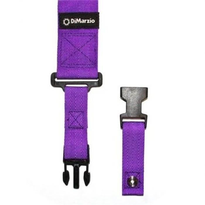 DiMarzio Cliplock Strap,  Purple