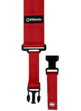 DiMarzio ClipLock Strap, Red