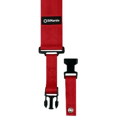 DiMarzio ClipLock Strap,  Red