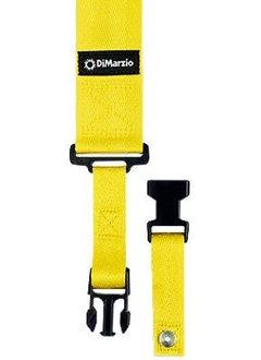 DiMarzio Cliplock Strap, Yellow