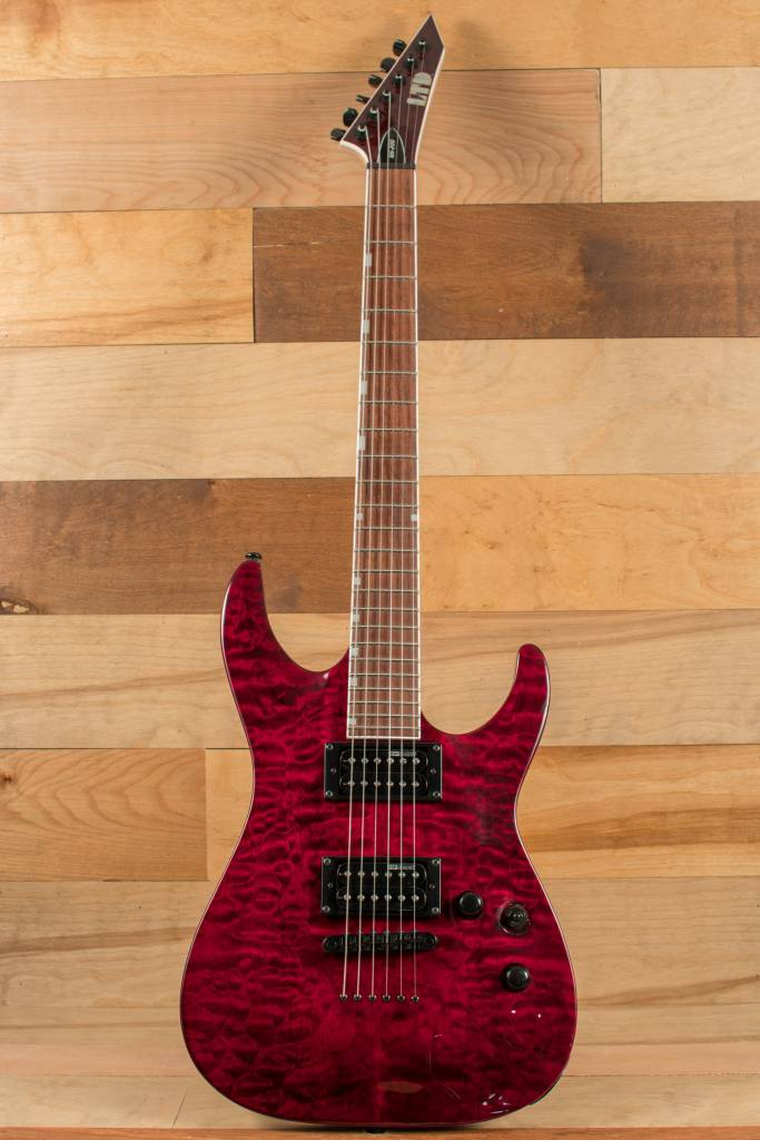 ESP ESP LTD MH-200QMNT, See Thru Black Cherry