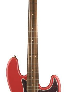 Fender Fender Road Worn® '60s Jazz Bass®, Pau Ferro Fingerboard, Fiesta Red