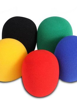 On-Stage On-Stage ASWS58-C5 5 Pack Colored Windscreens