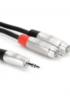 Hosa Hosa HMR-006Y 6' REAN 3.5 mm TRS to Dual RCA