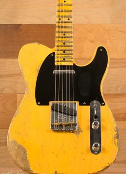 Fender Fender 1953 Heavy Relic® Telecaster®, Maple Fingerboard, Butterscotch