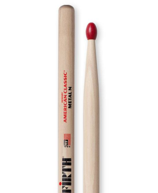 Vic Firth Vic Firth Metal Nylon, Red Tip
