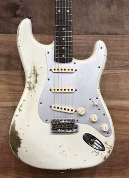 Fender Fender 2017 LTD NAMM 60 HR/CR Stratocaster, Aged Olympic White