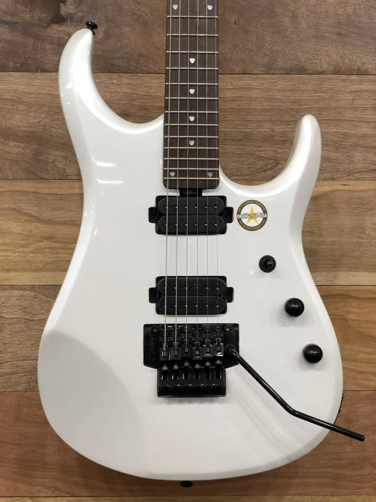Sterling Sterling John Petrucci JP160 Signature Model With Bag, Pearl White