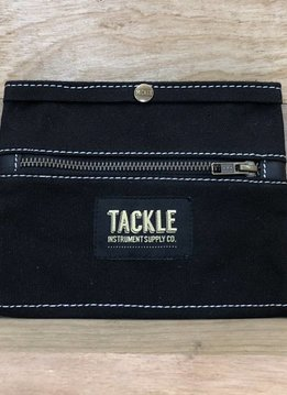 Tackle Instrument Supply Co Tackle Waxed Canvas Gig Pouch, Black