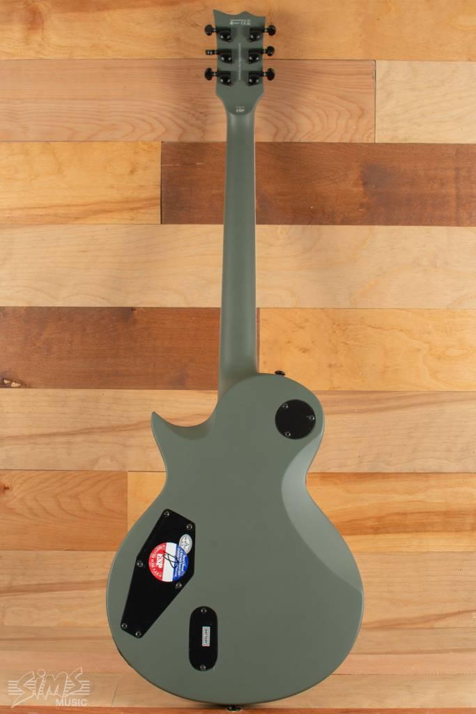 ESP ESP LTD EC-401, Military Green Satin