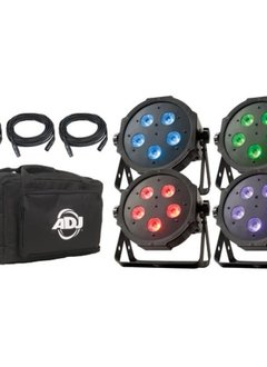 ADJ Mega Flat Tri Pack Plus