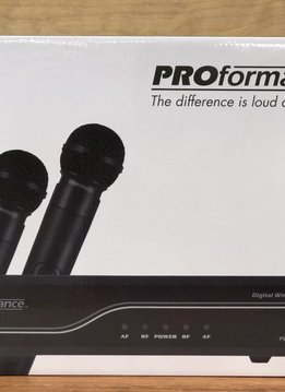 Proformance CAD PROformance PDW-LHG AB Dual Wireless System, 2 Lav/2 Headset