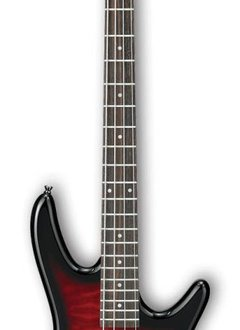 Ibanez Ibanez GSR370 Gio Series 4-String Bass Transparent Red Sunburst