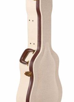 Gator Cases Gator Deluxe Wood Case for Dreadnought Acoustics, Journeyman Burlap Exterior