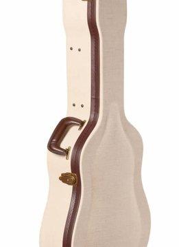 Gator Cases Gator Deluxe Wood Case for Dreadnaught Acoustics; Journeyman Burlap Exterior