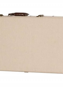 Gator Cases Gator Deluxe Wood Case for Bass Guitar; Journeyman Burlap Exterior