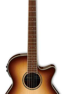 Ibanez Ibanez AEG10II Acoustic/Electric, Natural Brown Burst