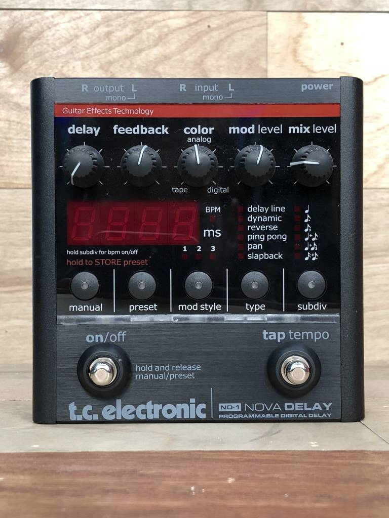 TC Electronics TC Electronics ND-1 Nova Delay