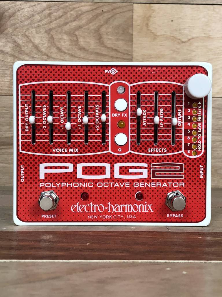 Electro-Harmonix Electro Harmonix POG2 Polyphonic Octave Generator