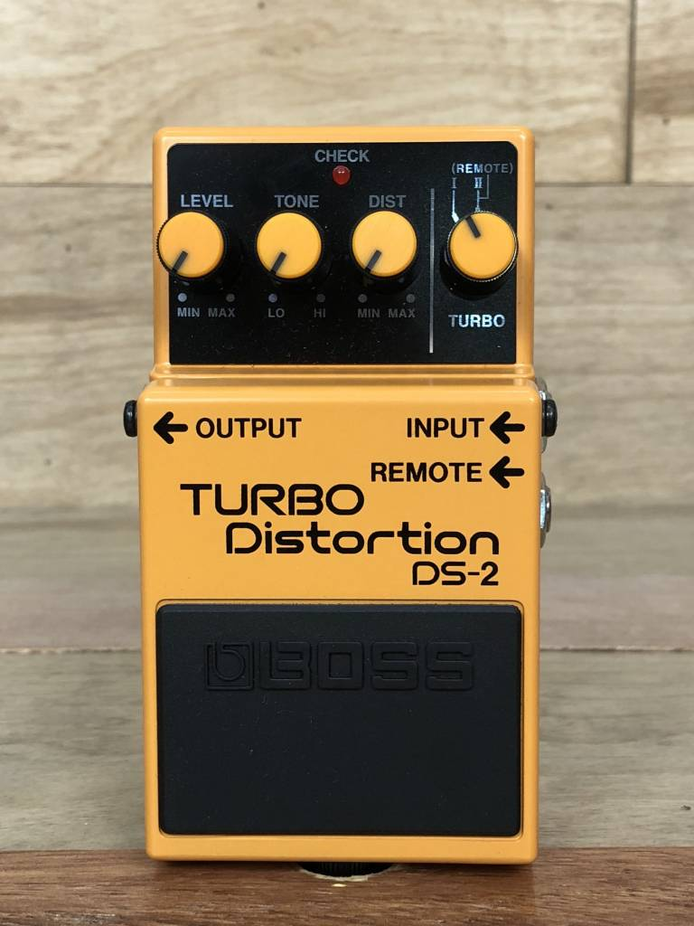 Boss BOSS DS-2 Turbo Distortion Pedal