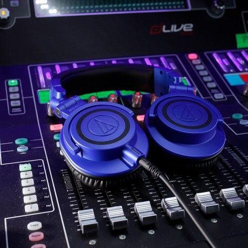 Audio-Technica Audio Technica ATH-M50XBB Monitor Headphones, Blue