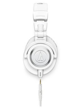 Audio-Technica Audio Technica ATH-M50xWH Professional Monitor Headphones, White