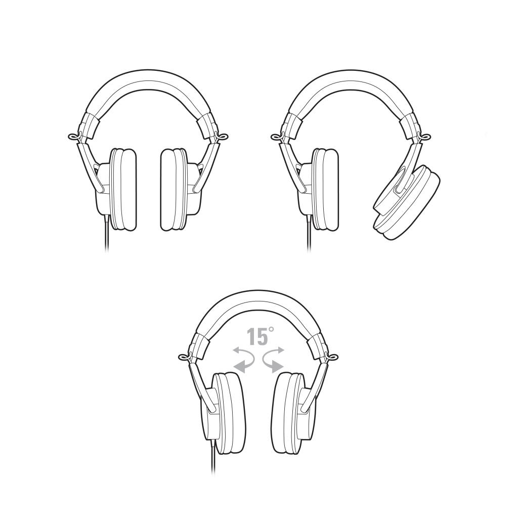 Audio-Technica Audio Technica ATH-M20x Monitor Headphones