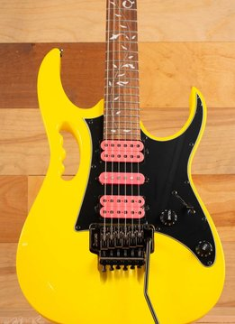 Ibanez Ibanez JEMJRSP Steve Vai Signature Model, Yellow