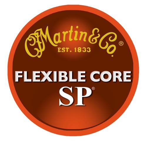 Martin Martin MFX750 Flexcore SP Medium Guage Strings 13-56