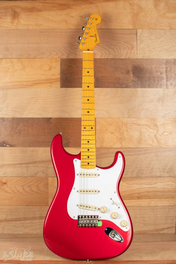 Fender Fender Classic Series '50s Stratocaster® Lacquer, Maple Fingerboard, Candy Apple Red