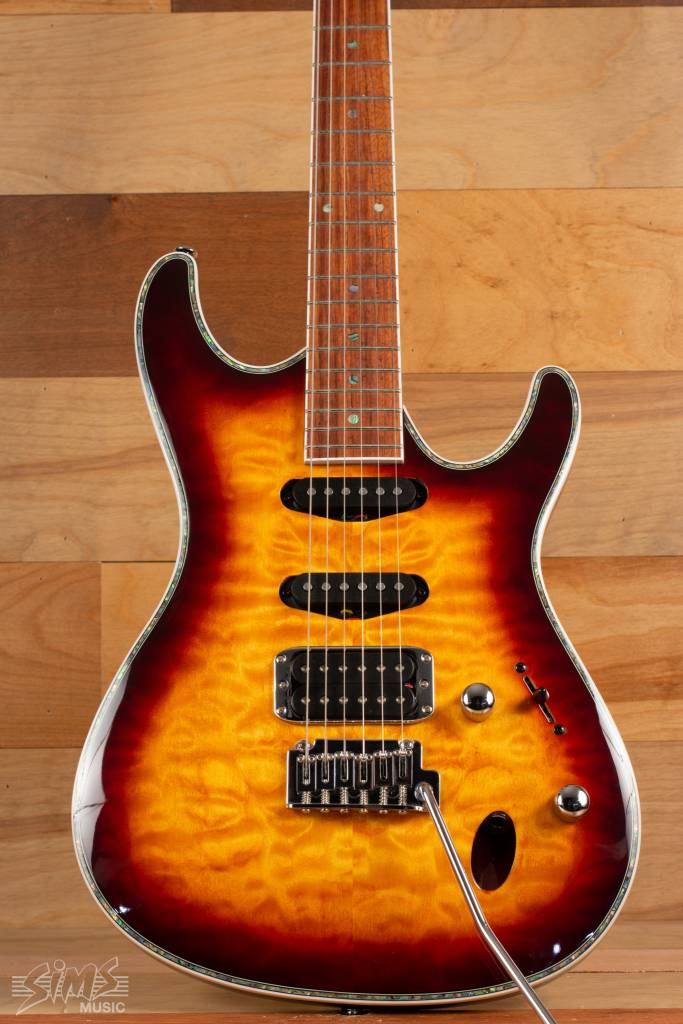 Ibanez Ibanez SA460QMABB, Antique Brown Burst