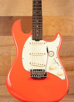 Sterling Sterling Cutlass CT50 Electric Guitar, Fiesta Red