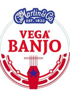 Martin Martin Vega Monel Wound Medium Banjo Strings