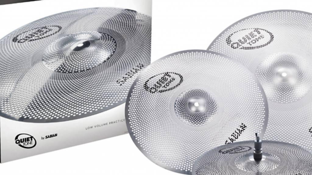 "Sabian Sabian Quiet Tone 4pc Low Volume Practice Cymbals, 14"", 16"", 20"""